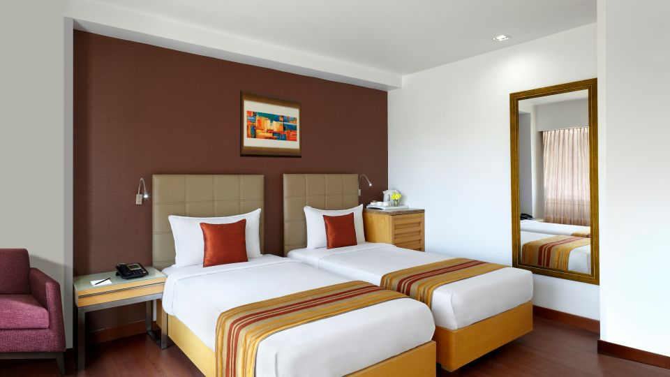 Standard Rooms at Suba Star Ahmedabad Hotel rooms in Ahmedabad