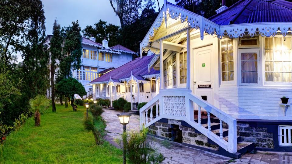 Facade at Summit Swiss Heritage Hotel Darjeeling 11