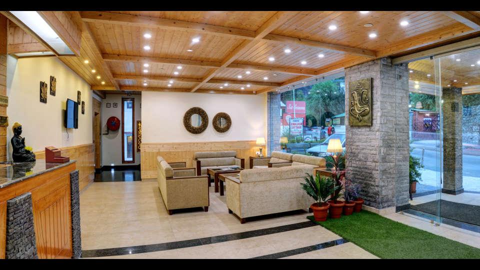 Lobby Summit Chandertal Regency Hotel Spa Manali Hotels in Manali 2