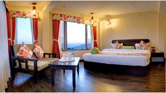 Family Suite at Summit Namnang Courtyard Spa Gangtok 3