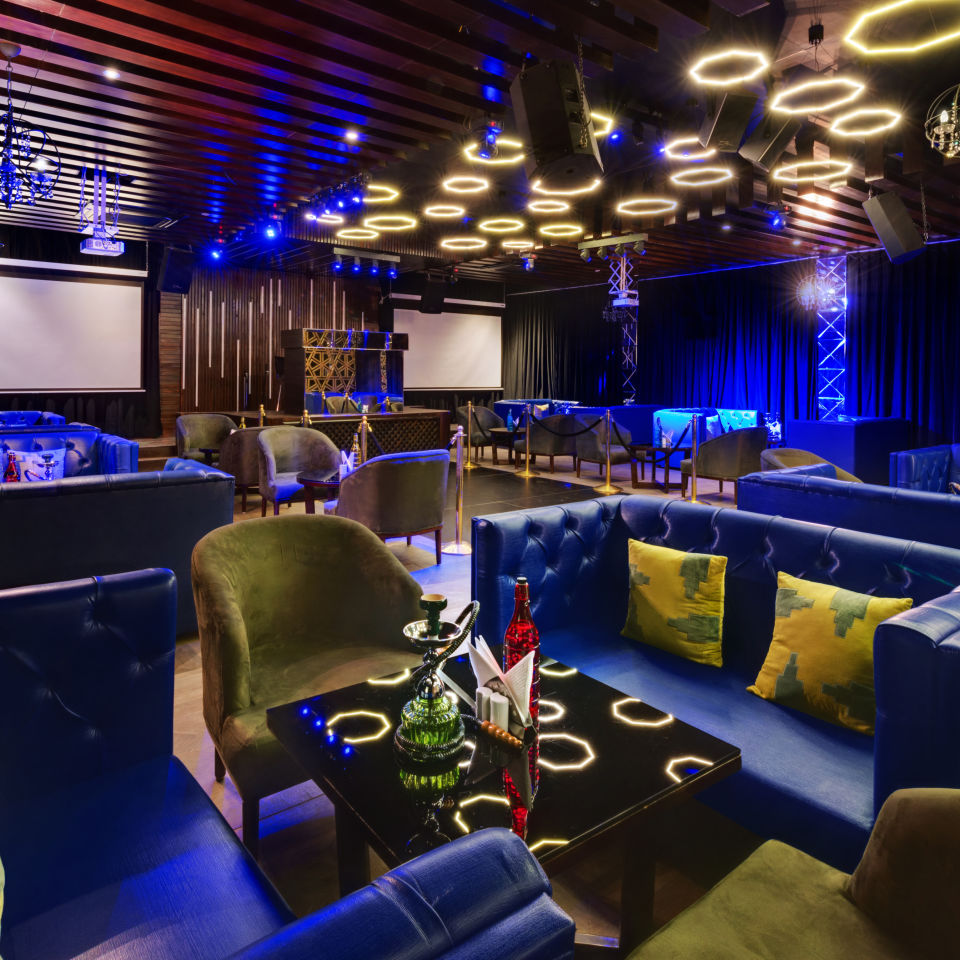 Lounge at The Manali Inn Hotel