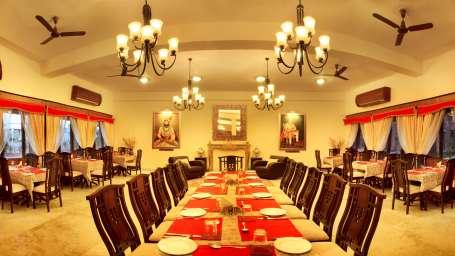 The Royal Durbar banquet hall at Bijolai Palace Hotel Jodhpur- heritage hotel in Jodhpur3