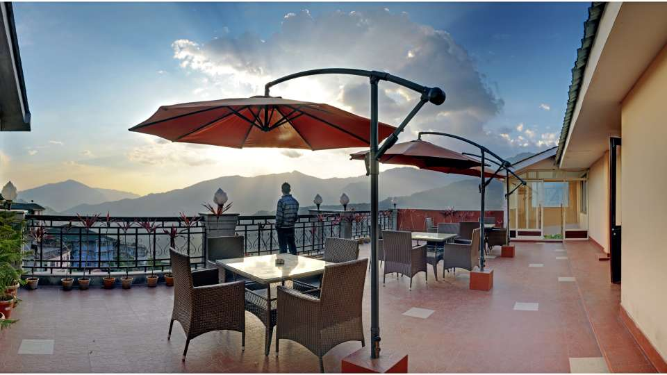 rOOF TOP at Summit Golden Crescent Resort Spa Gangtok 1