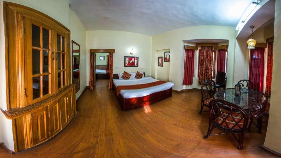 The Pavilion Hotel, Nainital Nainital heritage family room 1