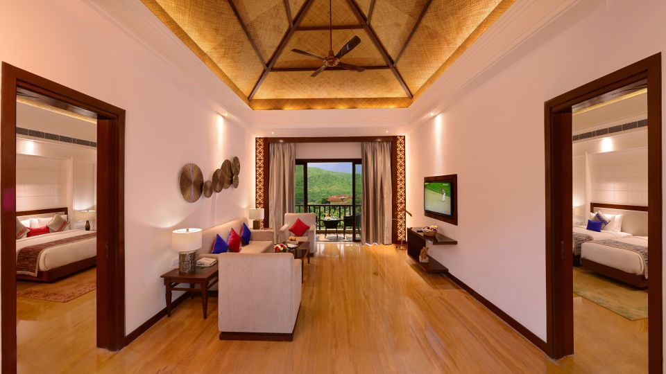 grand suite at ananta udaipur suites in udaipur