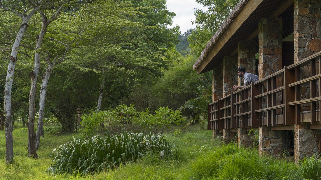 Mountain View Courtyard, Stay in Bandipur, The Serai Bandipur,  Luxury Resorts in Bandipur