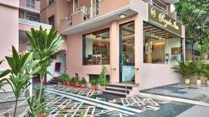 Exterior of Hotel Regale Inn near Savitri Cinema New Delhi