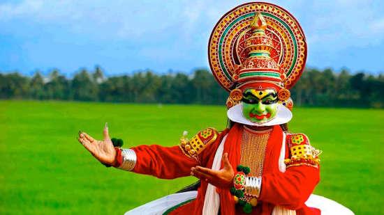 Kathakali   kerala Biverah Hotel Suites Trivandrum Thiruvanthapuram