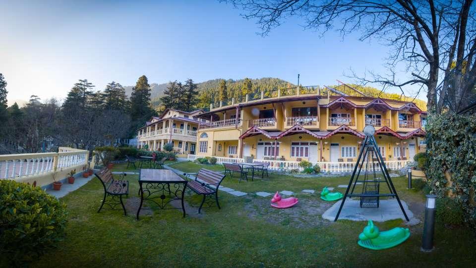 The Pavilion Hotel, Nainital Nainital Facade. The Pavilion Hotel Nainital