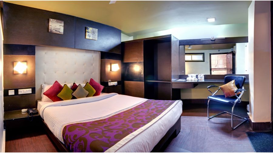 Deluxe AC Room at Mount Embassy Hotel Siliguri 2
