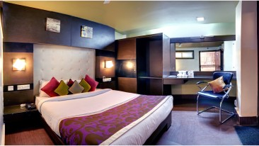 Deluxe Room at Mount Embassy Hotel in Siliguri 2