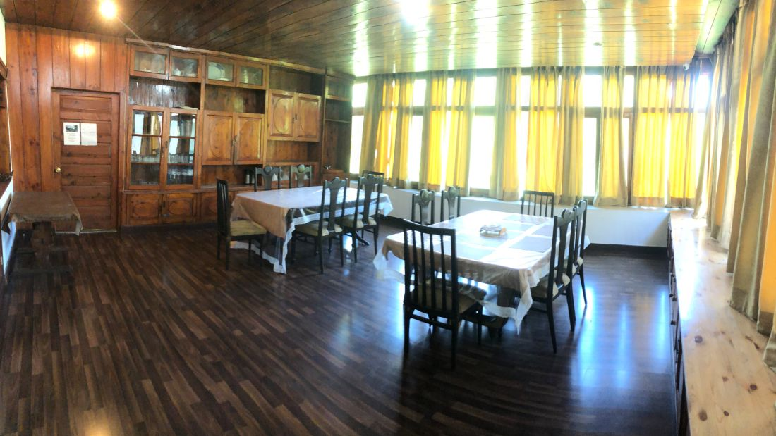 Dining at Ramgarh Heritage Villa, Manali 1