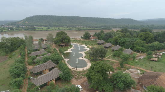 Top View, Panna Resort, Tendu Leaf Jungle Resort