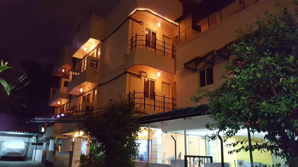 Maple Suites Serviced Apartments, Bangalore Bangalore facade east side