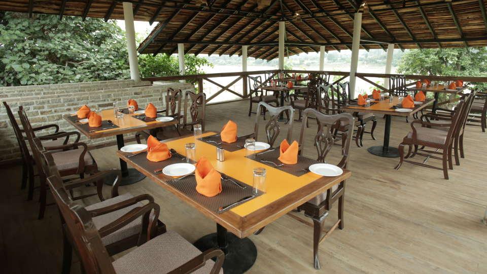 Restaurant in Panna, Riverview, Tendu Leaf Jungle Resort