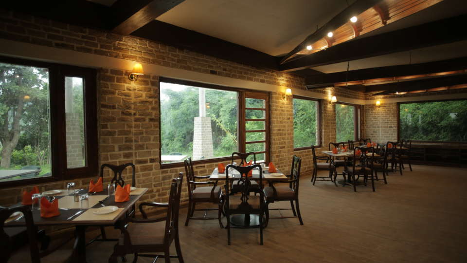 Restaurant in Panna 2, Riverview, Tendu Leaf Jungle Resort