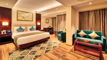 Stay in Jaipur, Hotel rooms in Jaipur, Golden Tulip Essential, Jaipur