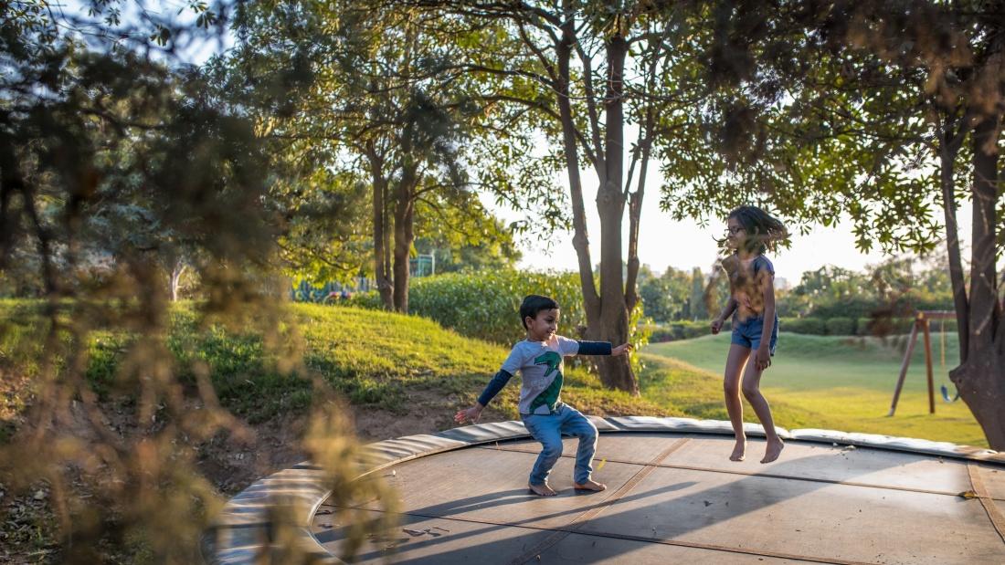 Karma Lakelands Children s Play Area in Gurgaon Play Area in Gurgaon Tennis Court in Gurgaon Badminton Court in Gurgaon 24