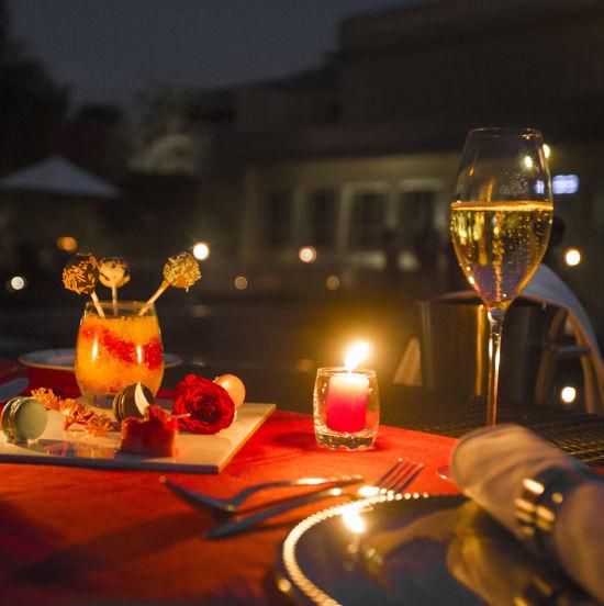 Dining at Heritage Villa and Spa 123