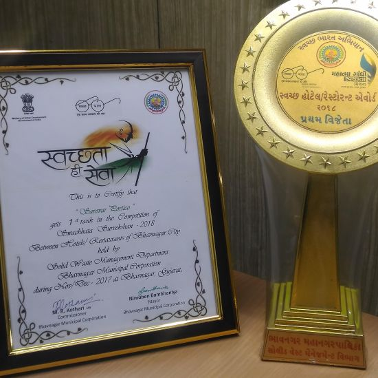 Swatchta Award 2018 , efcee sarovar portico hotels in bhavnagar  9 1
