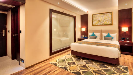 Rooms on MI Road, Best places to stay in Jaipur, Golden Tulip Essential, Jaipur
