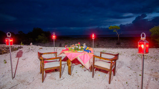 Candle Light Dinner Neil 1