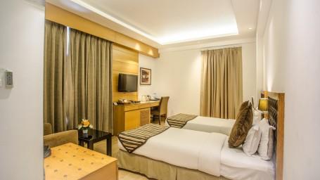Twin Bed Superior Room at Hotel Saket 27 New Delhi 1