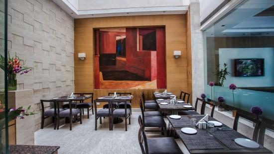 Restaurant at at Hotel Saket 27 New Delhi 2