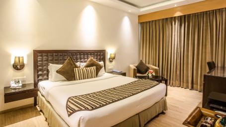Deluxe Room at Hotel Saket 27 in New Delhi 1