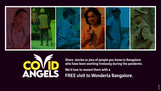 Covid Angels Page Banner Bangalore