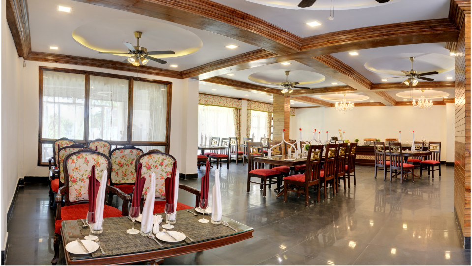 Veranda Restaurant Summit Barsana Resort Spa Kalimpong Hotels in Kalimpong