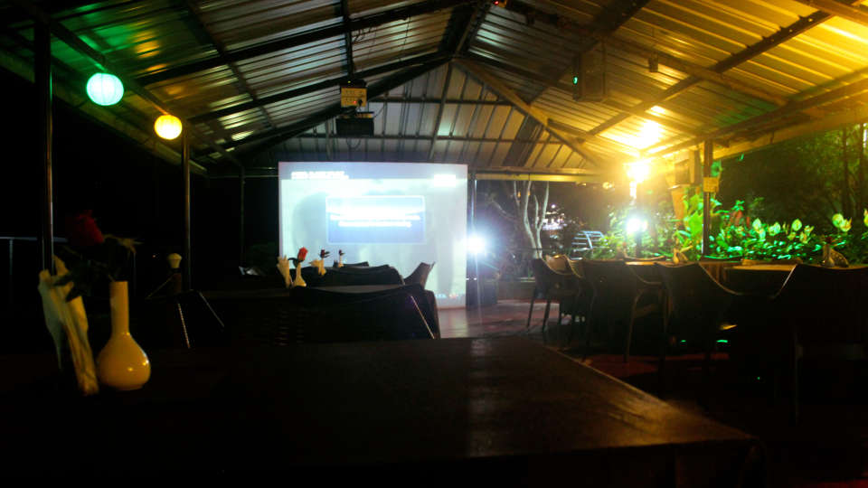Garden big screen movie