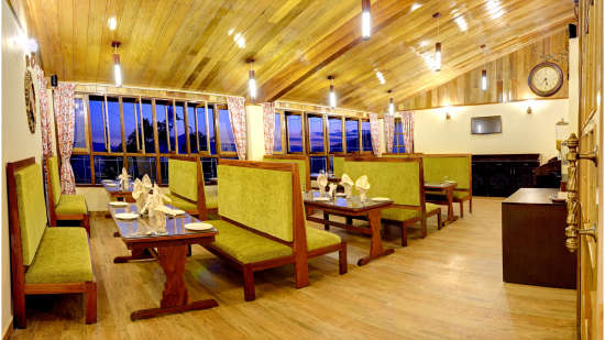 Nathula Restaurant Summit Namnang Courtyard Spa Gangtok