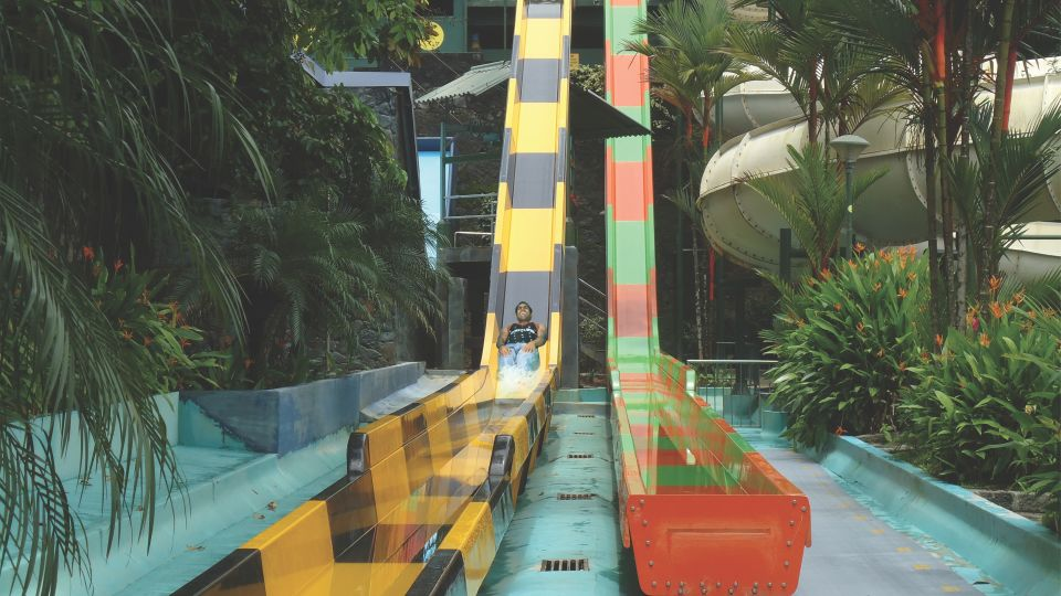 Thriller Rides - Wavy and Vertical Fall at Wonderla Kochi Amusement Park