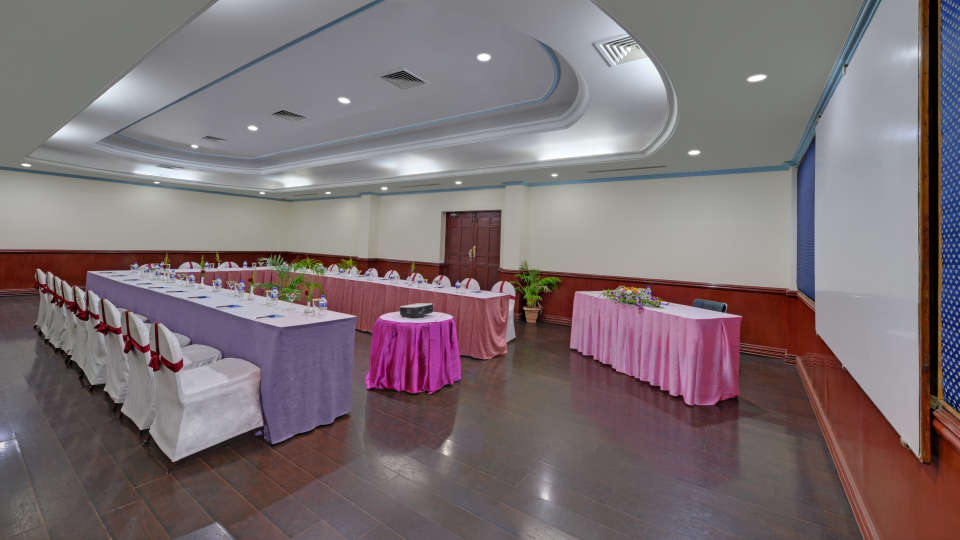Banquet Hall in Tiruchirappalli at the SRM Hotel 2