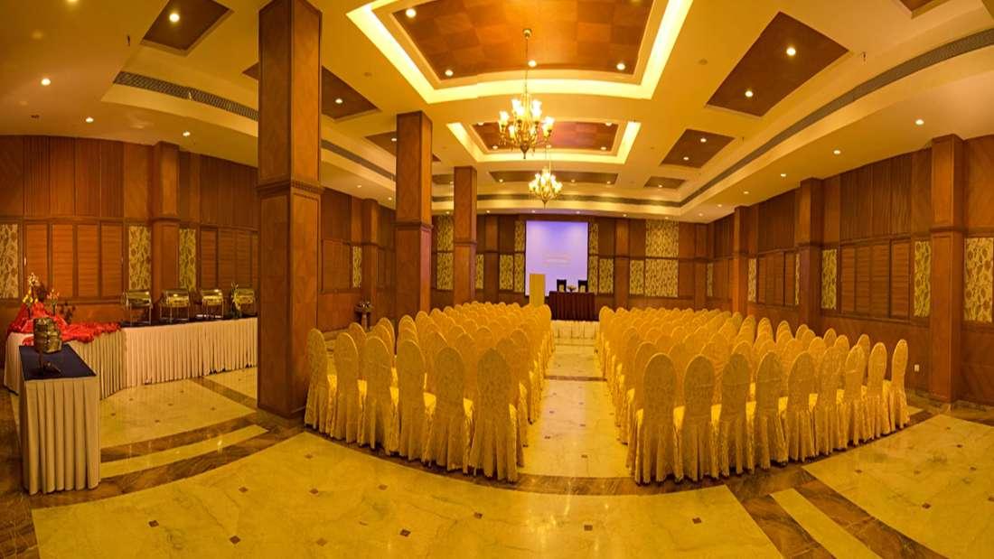 JP Hotel in Chennai Golden Peacock 2 hall