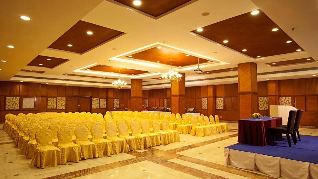 JP Hotel in Chennai Golden Peacock 1 hall