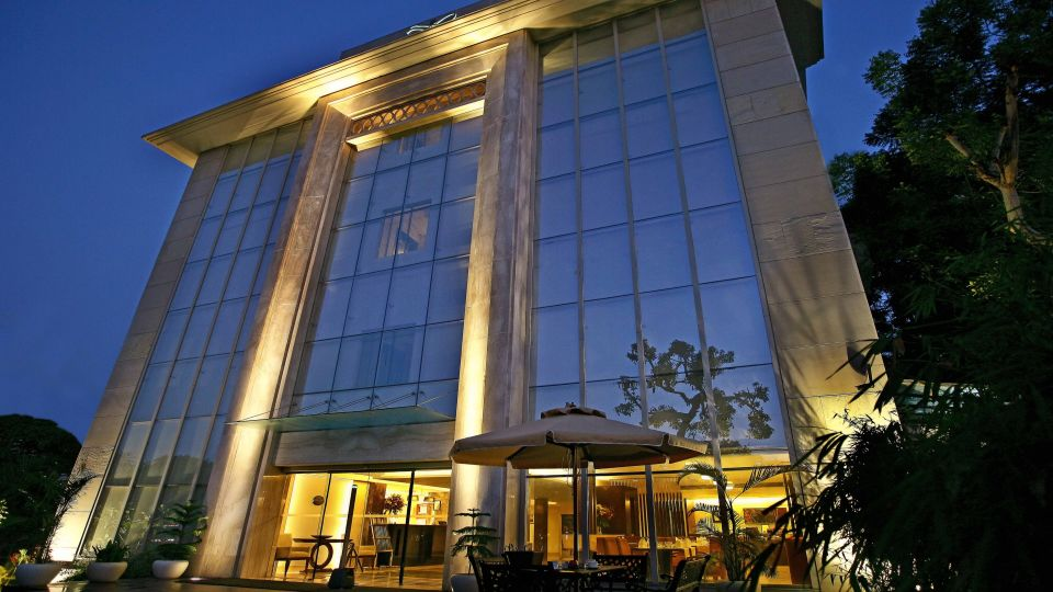 Facade at The Muse Sarovar Portico Nehru Place New Delhi 3