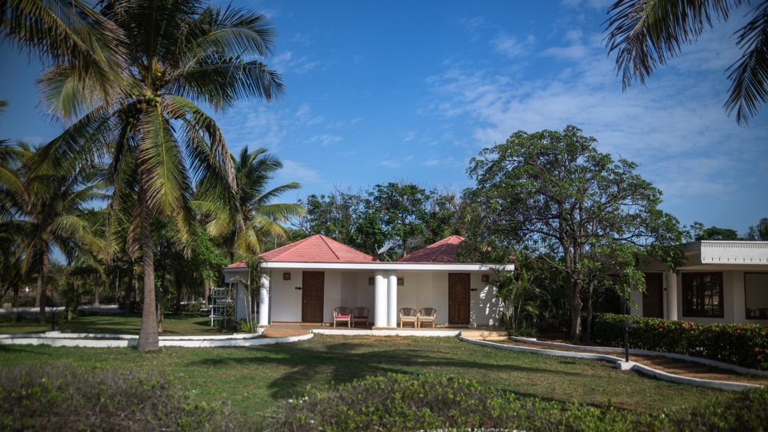 Cottages at Chariot Beach Resort in Mahabalipuram