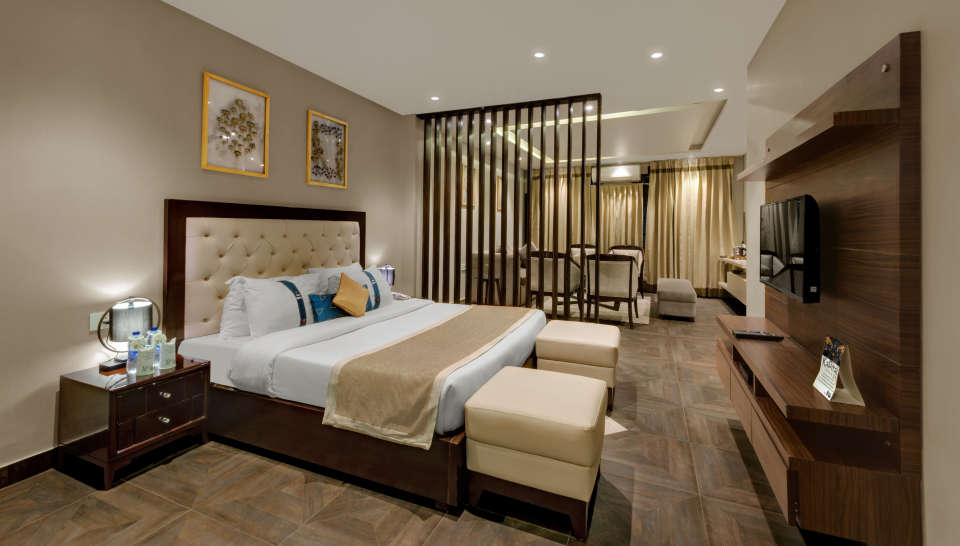 Presidential Suite at The Manali Inn Hotel