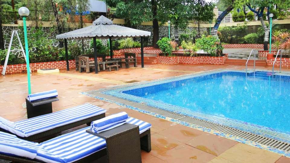 Swimming Pool Zara s Resort Khandala Hotels near Lonavla Railway Station 1