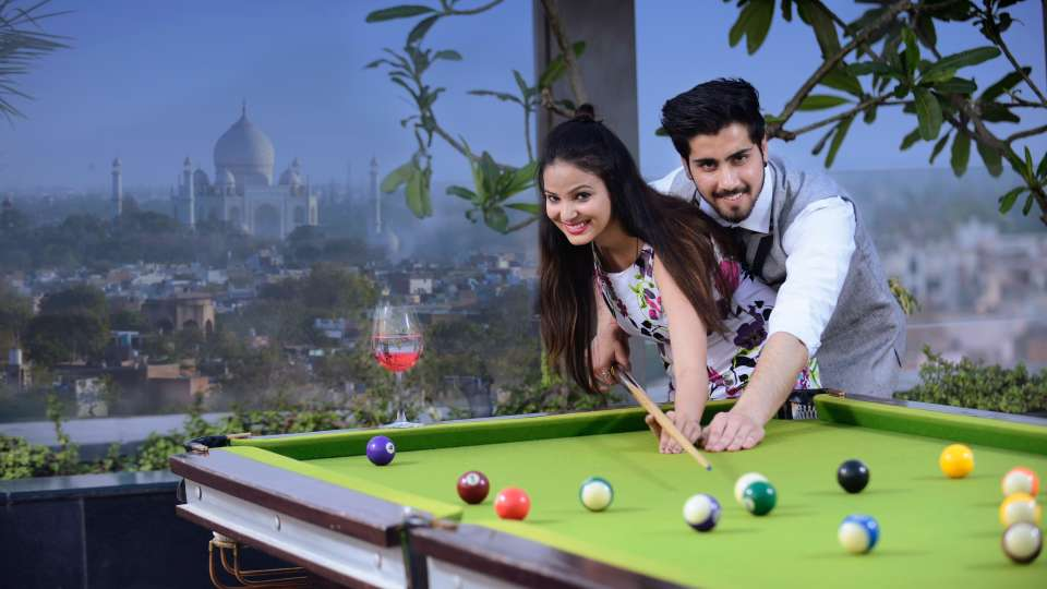 Pool table at Crystal Sarovar Premier Agra 5 star hotels in Agra