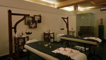 Ayurvedic massage room