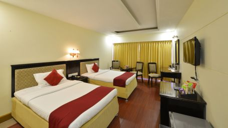 Club Executive Room at Hotel SRM Chennai