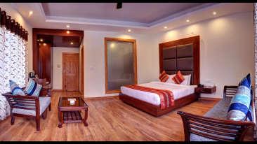 Deluxe Rooms Summit Chandertal Regency Hotel Spa Manali Hotels in Manali