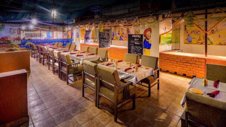 Puran Da Dhaba - Roof Top Restaurant.
