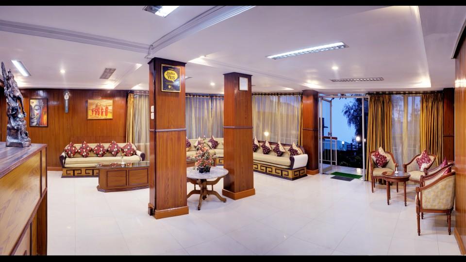 Reception at Mount Himalayan Resort in Darjeeling