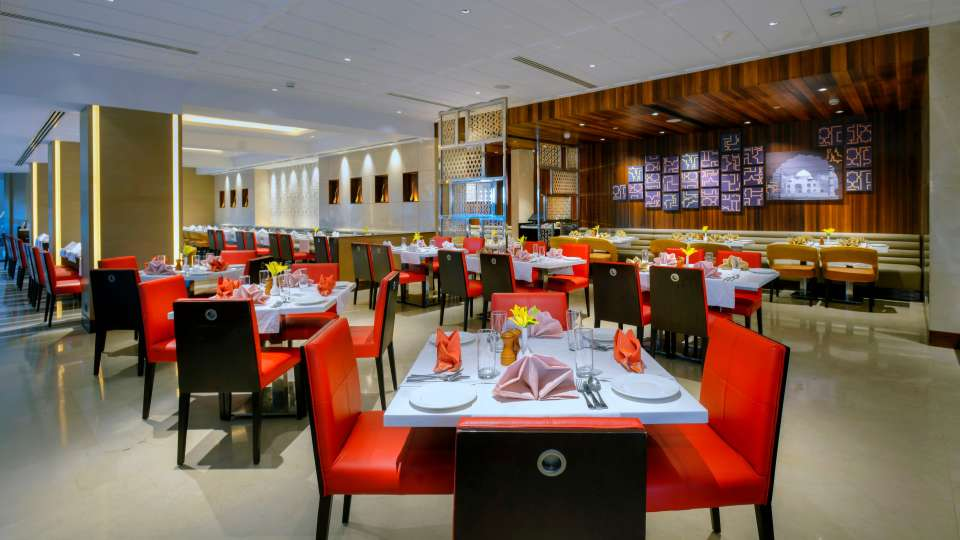 Fizz Restaurant at Crystal Sarovar Premiere Agra Best Hotels in Agra