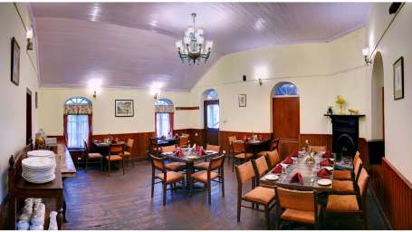 Whistling Steam Restaurant Summit Swiss Heritage Hotel Darjeeling