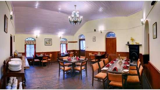 Whistling Steam Restaurant Summit Swiss Heritage Hotel Darjeeling